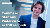 Tommaso Stanzani, l'intervista in 100 secondi