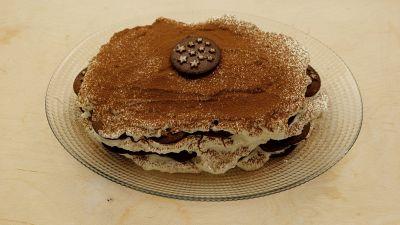 Ricetta per la torta con Pan di stelle con mascarpone