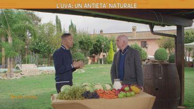 L'uva: un antietà naturale