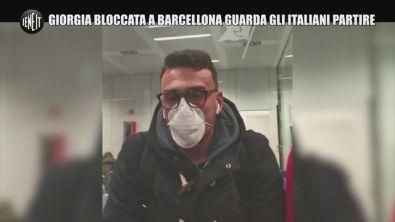 """Coronavirus, Giorgia bloccata a Barcellona: """"Ecco gli italiani che partono"""""""