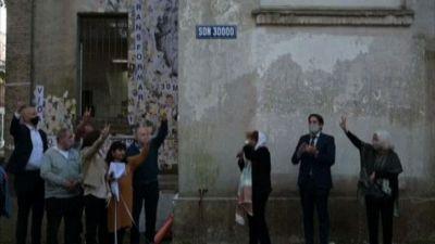 """""""Sono 30.000"""", una via a Buenos Aires ricorda i desaparecidos"""