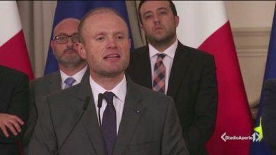 Malta, assedio al Parlamento