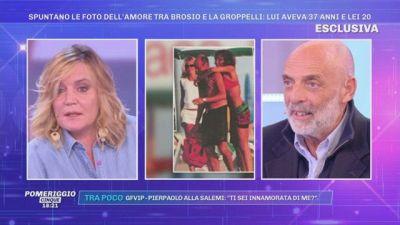 Spuntano le foto dell'amore tra Brosio e la Groppelli