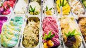 In una gelateria c'è anche il gelato al gusto di green pass
