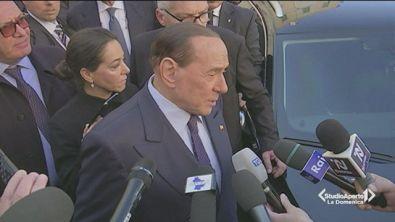 Silvio Berlusconi fa tappa a Matera