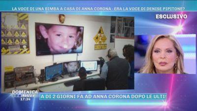La voce di una bimba a casa di Anna Corona - Era la voce di Denise?