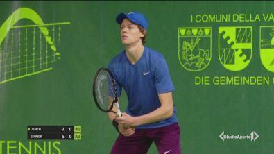 Sinner, nuovo astro del tennis