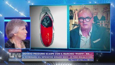 """""""Dovevo produrre scarpe con il marchio Pivetti, ma..."""""""