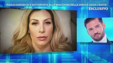 Paola Caruso si sottopone alla macchina della verità