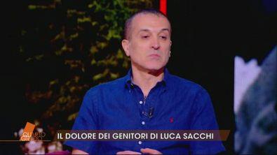 I genitori di Luca Sacchi