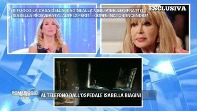 Isabella Biagini - Telefonata esclusiva