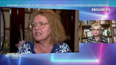 Giacoma, la vicina di Anna Corona: fu ispezionata casa mia e tutti lo sapevano