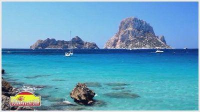 In navigazione tra Ibiza e Formentera