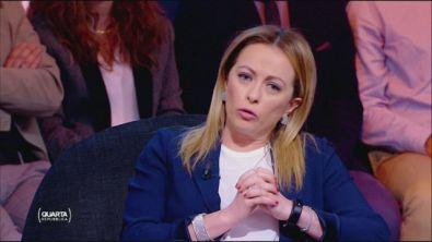 Giorgia Meloni contesta a Conte di aver tradito l'Italia