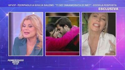 GFVIP - Pierpaolo a Giulia Salemi: ''Ti sei innamorata di me?''