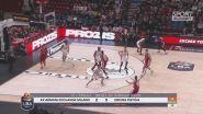 Basket, Serie A: Milano travolge Pistoia