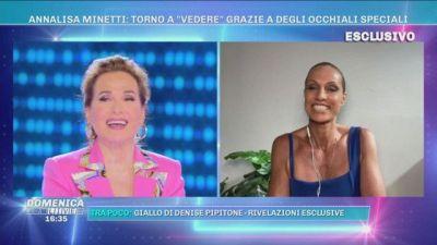 """Annalisa Minetti: torno a """"vedere"""" grazie a degli occhiali speciali"""