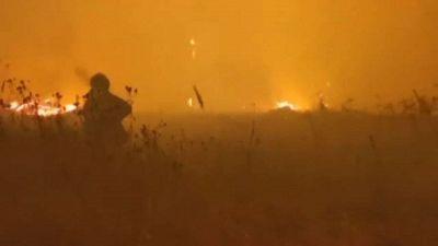 In fiamme le foreste della Mordovia, nella Russia centrale