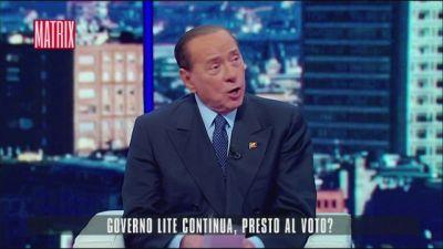 Silvio Berlusconi a Matrix