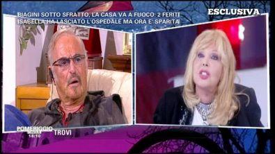 Isabella Biagini e Franco Califano