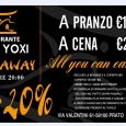 RISTORANTE YOXI YOXI Menù all you can eat