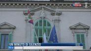 Breaking News delle 16.00 | Un minuto di silenzio
