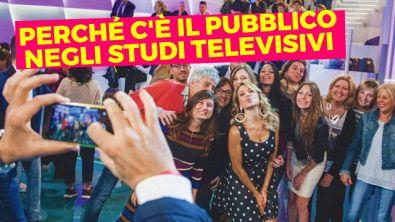 Perché c'è il pubblico negli studi televisivi