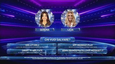 Serena Enardu e Licia Nunez sono in Nomination