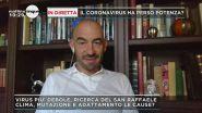 L'infettivologo Matteo Bassetti a Mattino 5