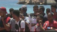"""Lampedusa nel caos, """"Rimpatri in Tunisia"""""""