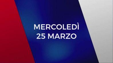 Stasera in Tv sulle reti Mediaset, 25 marzo