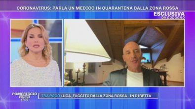 Emergenza Coronavirus: parla un medico in quarantena dalla zona rossa