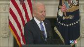 Biden: via i brevetti. La Ue elogia l'Italia