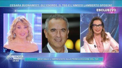 Cesara Buonamici: gli esordi, il TG5 e l'amico Lamberto Sposini