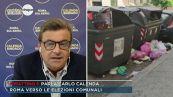 """Carlo Calenda: """"Roma è fuori controllo, l'immondizia è ovunque"""""""