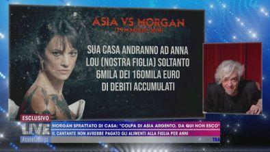 La dura replica di Asia Argento a Morgan