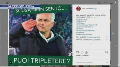 Ciao Triplete, ironia social sulla Juve