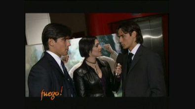 Intervista ai fratelli Inzaghi mentre si contendono il campionato 1999/2000