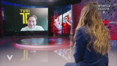 Francesco Totti: l'intervista integrale