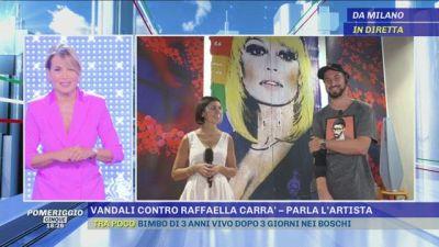 Raffaella Carrà: parla l'artista che ha realizzato il murale