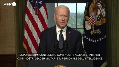 """Biden annuncia il ritiro dall'Afghanistan: """"E' ora che le truppe tornino a casa"""""""