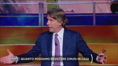 """Lo sfogo di Nicola Porro: """"va bene stare a casa, ma va riconosciuto il sacrificio"""""""