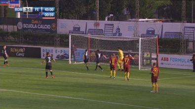 Roma Legends-Nazionale Piloti: gol di Massa