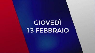Stasera in Tv sulle reti Mediaset, 13 febbraio
