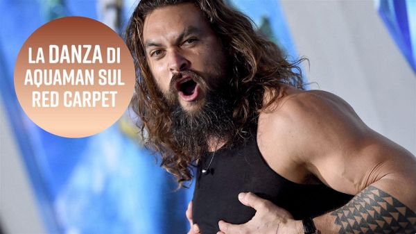 Jason Momoa ha fatto l'haka sul red carpet