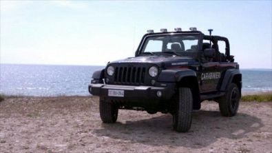 Una Jeep da… spiaggia
