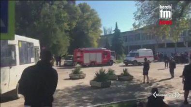 Crimea, strage nel campus