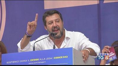 Da Pontida, Salvini rilancia la sfida