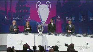 I sorteggi di Champions ed Europa League