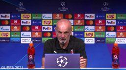 """Champions, Pioli: """"Dove non arriviamo con l'esperienza, lo faremo con le idee"""""""